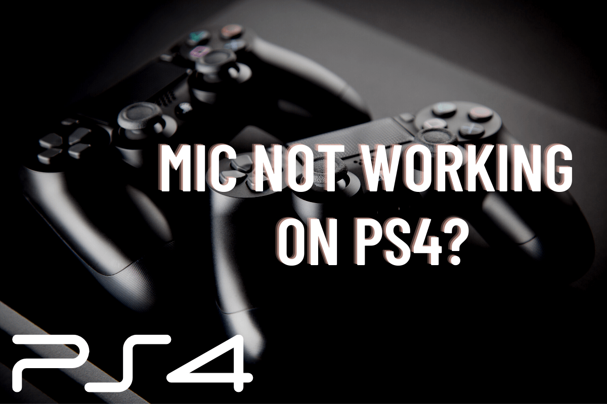 Mic not working on PS4